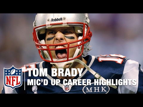 Listen to the best mic'd up moments from the incredible career of New England Patriots QB Tom Brady. Subscribe to NFL: http://j.mp/1L0bVBu Start your free trial of NFL Game Pass: https://www.nfl....