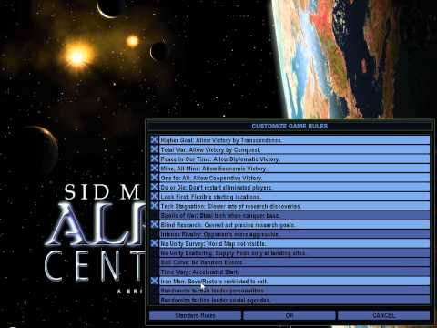 Let's play Sid Meier's Alpha Centauri - part 1