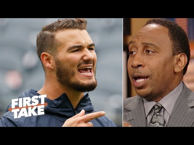 Stephen A. laughs at the Bears for passing up Pat Mahomes to draft Mitchell Trubisky | First Take thumbnail