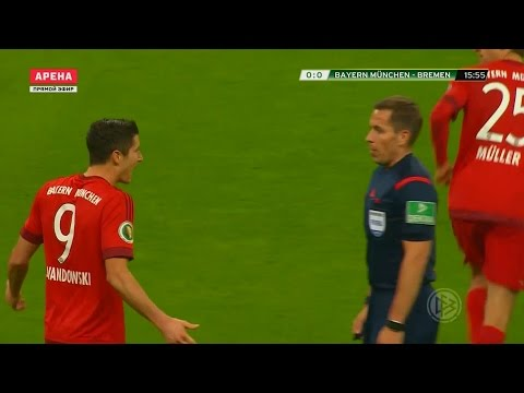 Robert Lewandowski vs Werder Bremen Home HD 1080i (19/04/2016) by 1900FCBFreak