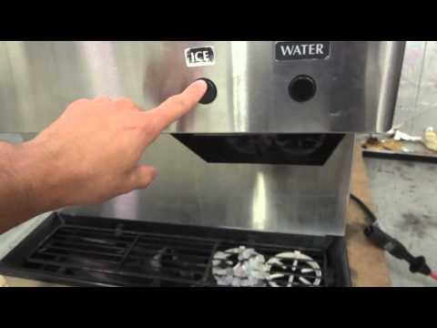Hoshizaki DCM-500BAH Countertop Ice Maker and Water Dispenser 618 LBS