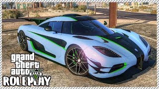 GTA 5 ROLEPLAY - Koenigsegg One:1 Pink Slip Drag Racing | Ep. 421 Civ