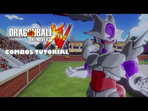 Frieza Race Created Character Combos Tutorial - Dragon Ball Xenoverse