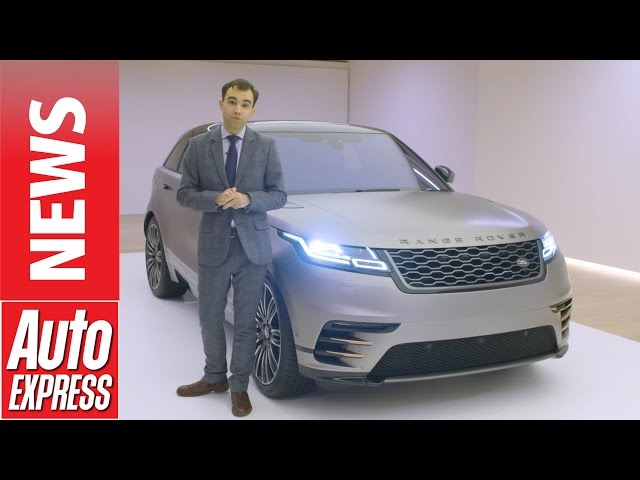 New Range Rover Velar: early in-depth look into ... - YouTube
