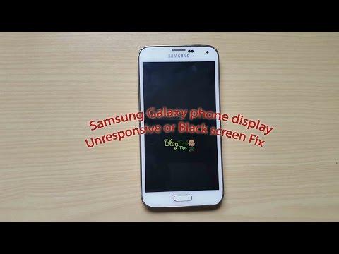 Samsung Galaxy S3,S4,S5 Phone display Unresponsive or Black screen Fix
