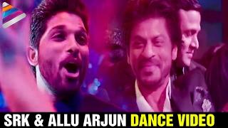 Shah Rukh Khan and Allu Arjun Dance Video | T Subbarami Reddy Grand Son Keshav Sangeet | SRK