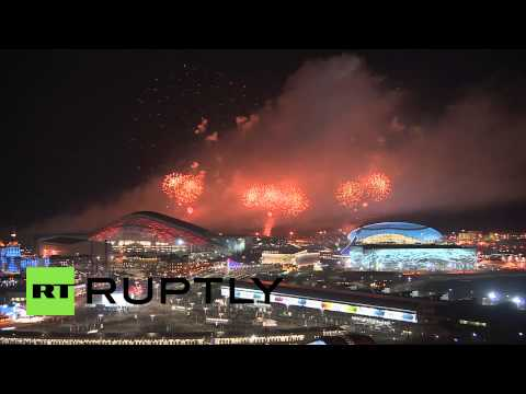 Russia: Sochi Olympic fire goes out with a bang