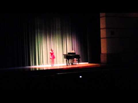 Sofia and the Dingleball--Summertime Sadness--Dakota High School 2014 Talent Show