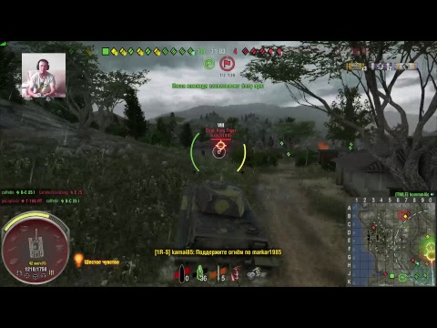 World of tanks.Взводом.PS4 [1080p,60fps]