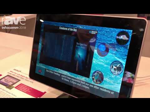 InfoComm 2018: Mimo Monitors Shows MBS 1080C 10.1″ Monitor with Integrated BrightSign Player