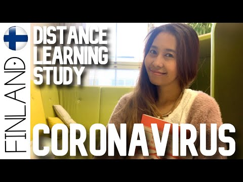 Coronavirus Finland 16.3.2020 and my School Distance Learning Education in Finland #coronavirus