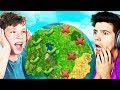 FORTNITE *NEVER* PLAY THIS CHALLENGE vs YOUR LITTLE BROTHER! (Geoguessr Battle Royale)