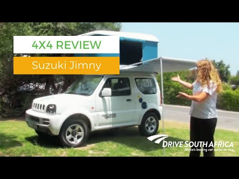 Suzuki Jimny review - 4x4 hire in South Africa. Botswana and Namibia