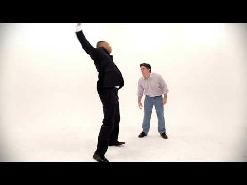Barack Obama vs Mitt Romney.  Epic Dance Battle Of History