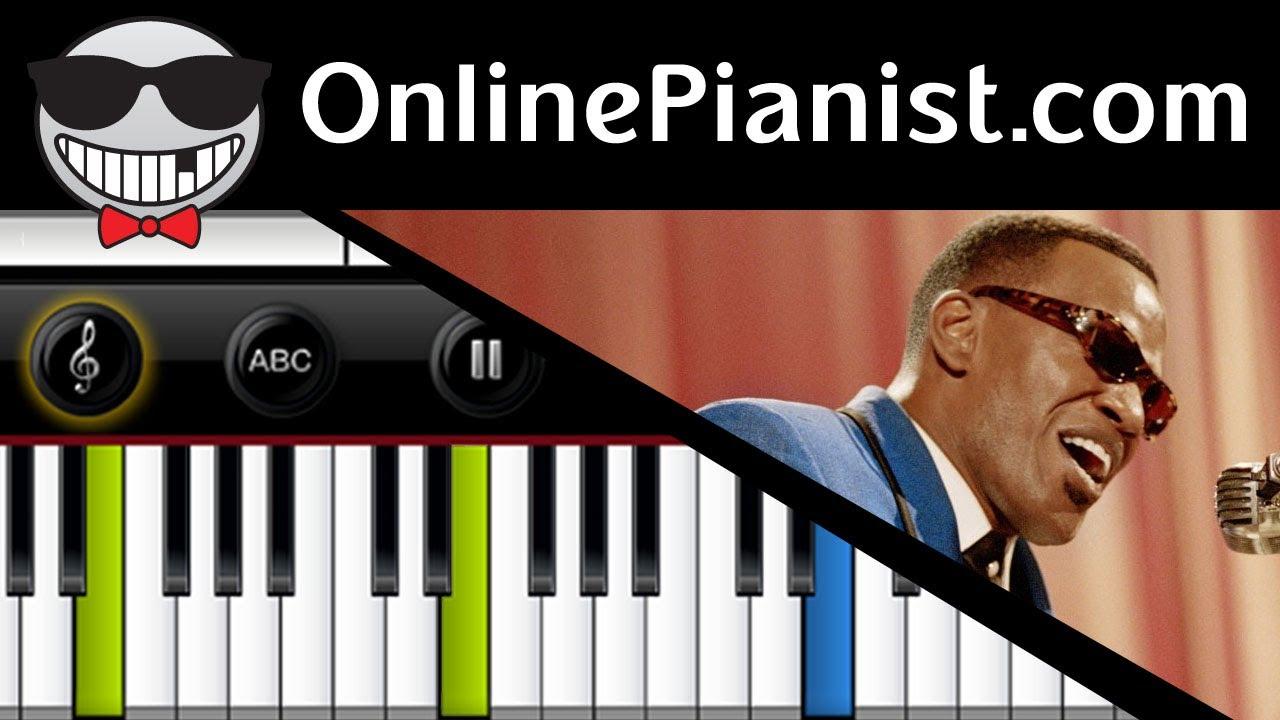 Ray Charles - Hit The Road Jack - Piano Tutorial - YouTube