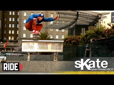 SKATE San Francisco with Tony Manfre
