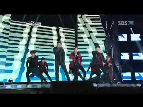 Snsd&super Junior Dance(소녀시대&슈퍼쥬니어 댄스) sbs Music Festival가요대전 111229 video