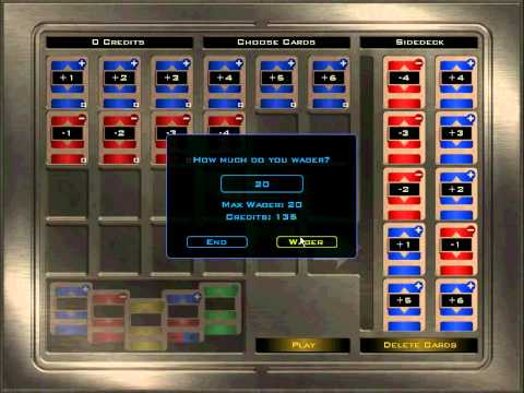 Pazaak Online - Card Game - Knights of the Old Republic