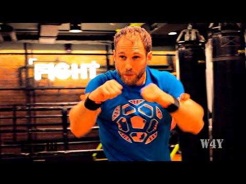 Убойная тренировка с помощью Fight Rope от W4Y