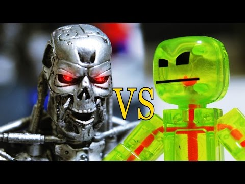 Stikbot Stop motion | ROBO Deathmatch (Part 2)