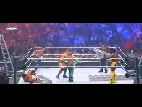RAW Money in the Bank Ladder Match 2011 Part1