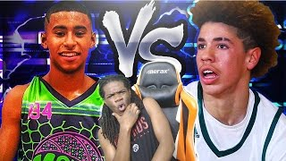 LAMELO BALL VS JULIAN NEWMAN 1V1! OMG I TOLD YALL HE WASNT READY FOR LAMELO!!