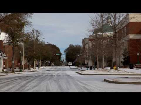LaGrange Georgia Snow Storm Of 2014, Jan,27-28, A Community Shut Down