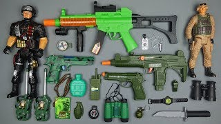 Toy Guns Toys !! Box Full of Toys Realistic Military Weapons and Equipment