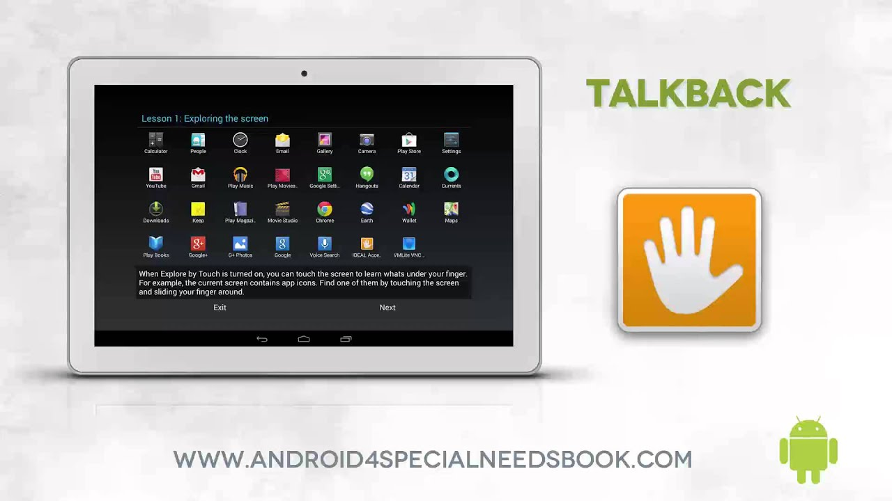 talkback lesson 10 android accessibility features