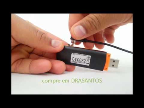 Drasantos - Modem 3g com entrada saída para antena externa Huawei e173 3g 2100mhz - v2