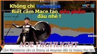 AOE Hightlight || Siêu phẩm cầm Mace cân cả Assyrian và Shang đến từ Hoàng Mai Nhi quá bá !