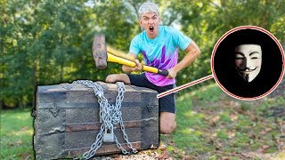 BREAKING OPEN THE GAME MASTER TOP SECRET MYSTERY TREASURE CHEST!!