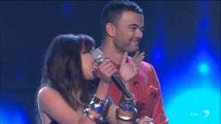 Samantha Jade: The Top 2 Revealed on The X Factor 2012 - Grand Final Decider 20-11-2012 - (HQ)