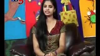 Snehitha With indira priyadarshini(TV5)