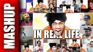 Anime in REAL LIFE | Reactions Mashup
