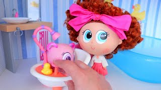 Soap Making ! Toys and Dolls Fun for Kids & Baby Doll Play | SWTAD