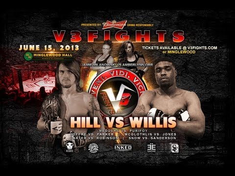 V3FIGHTS: June 15th Promo