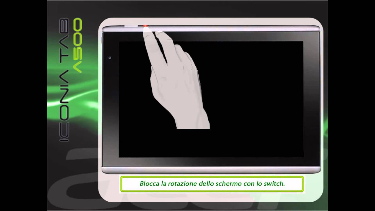 Hard Reset Tablet Acer Iconia Acer Iconia Tab A500 Hard