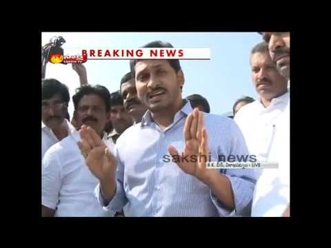 Ys Jagan Slams Ap Government Over Sea Erosion In Vizag Rk Beach video