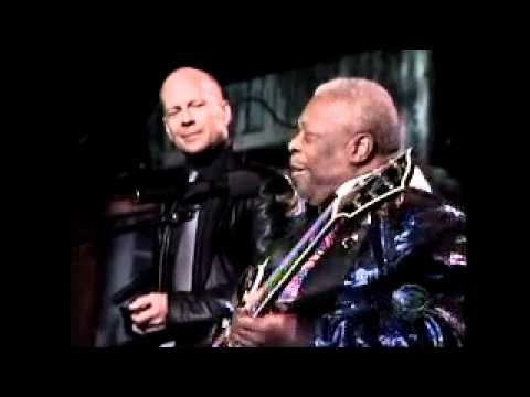 BB King Billy Preston & Bruce Willis