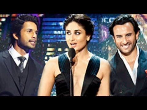 Kareena Kapoor Shocks Shahid Kapur At Iifa Awards 2014 video
