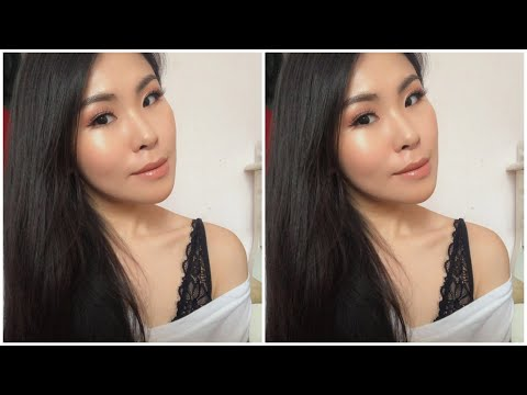 Makeup Tutorial Using Charlotte Tilbury Pillow Talk Palette - Indonesia | Gin and Glow - YouTube
