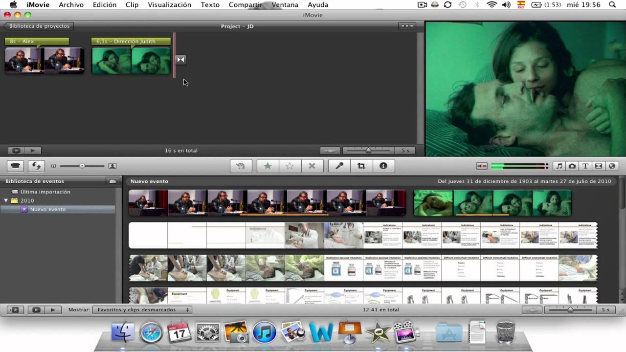 Imovie Make Advertisement