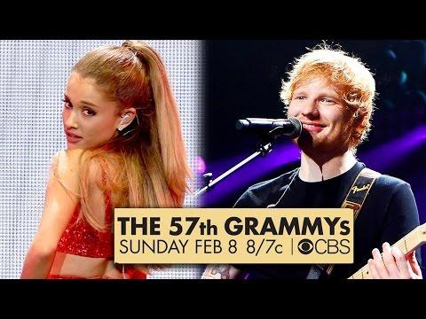 Ariana Grande & Ed Sheeran Grammys 2015 Performers!