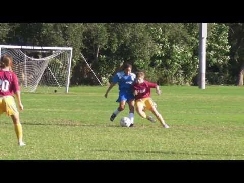 King Middle School - Bradenton Fl - Girls Soccer Game 1