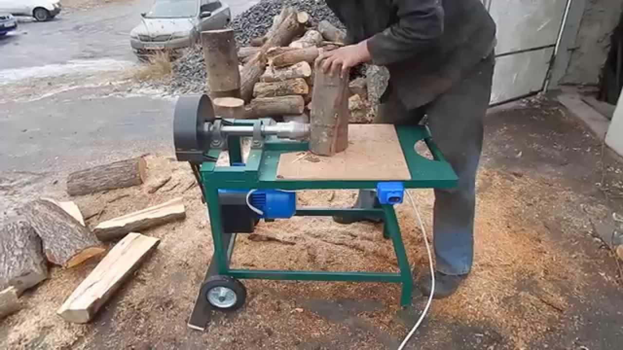 Как самому сделать винтовой колун