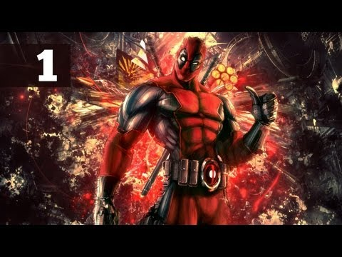 Прохождение Deadpool — Часть 1: По сценарию