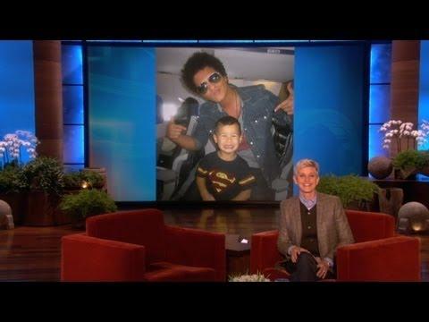 Four-Year-Old Bruno Mars Singer Met Bruno Mars