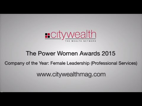 Citywealth Power Women Awards 2015 - Company of the Year: Female Leadership (Professional Services)