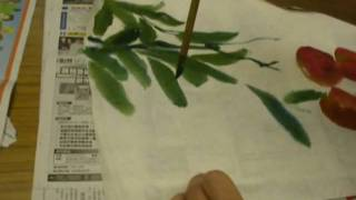 藍田婦女會書畫班 Chengtaikwo Painting course, 3 may, 2010 in Lam Tin Women